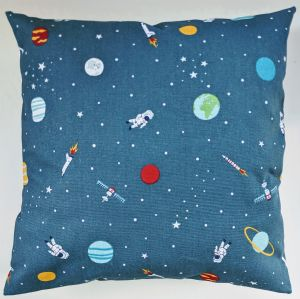 "Cushion Cover in Sophie Allport Space 14"" 16"" 18"" 20"" 22"" 24"""